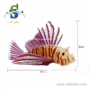 lion fish aquarium decor