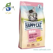 غذای خشک بچه گربه مدل مینکاس کیتن (۱۰ کیلوگرم) هپی کت (Happy Cat Minkas Kitten 10kg) n