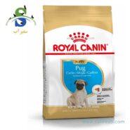 غذای خشک توله سگ نژاد پاگ ۲ تا ۱۰ ماه رویال کنین (Royal Canin Pug Junior 1