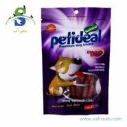 غذای تشویقی سگ مدل استیک مرغ (۱۰۰ گرم) پتی دیل