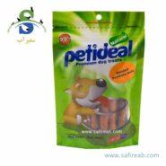 غذای تشویقی سگ مدل رول دودی شده مرغ (۱۰۰ گرم) پتی دیل