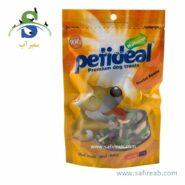 غذای تشویقی سگ مدل فلوراید گره ای (۱۰۰ گرم) پتی دیل