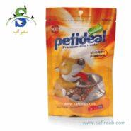 غذای تشویقی سگ مدل مرغ توپی (۱۰۰ گرم) پتی دیل