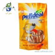 غذای تشویقی سگ مدل پیچی مرغ و ماهی (۱۰۰ گرم) پتی دیل
