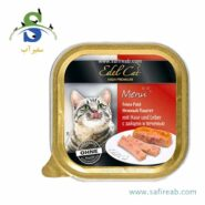 Edel Cat Alu cup pate with rabbit and liver 100g