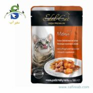 Edel Cat pouches . jelly with poultry & rabbit