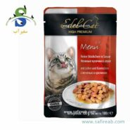 Edel Cat pouches . souce with liver and rabbit