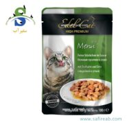 Edel Cat pouches . souce with turkey and duck