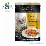 Edel Cat pouches. jelly with duck & turkey
