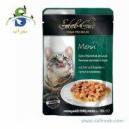 Edel Cat pouches. souce with duck & rabbit
