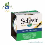Schesir Senior Chicken Fillets With Aloe
