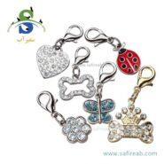 آویز تزئینی قلاده سگ و گربه فرپلاست (Ferplast Metal Tag Collars)1
