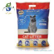 خاک گربه طبیعی ساده (۱۰ کیلوگرم) بلو کت (Blue Simple Natural Cat Soil 10kg)