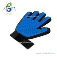دستکش ماساژ و پرزگیر سگ و گربه دی پی اس (DPS Massage gloves and dogs and cats) 1