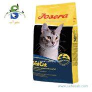 غذای خشک مدل جوسی کت مخصوص گربه بالغ حاوی گوشت اردک و ماهی جوسرا (Josera JosiCat Duck & Fish