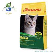 غذای خشک مدل جوسی کت مخصوص گربه بالغ حاوی گوشت مرغ (۱۰ کیلوگرم) جوسرا (Josera JosiCat Poultry 10kg)