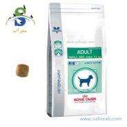 غذای خشک سگ نژاد کوچک با حساسیت دندان و گوارش (۲ کیلوگرم) رویال کنین (Royal Canin VCN ADULT SM DOG 2kg)