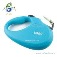 قلاده متری سگ یو اس پت (US PET Retractable Dog Leash 25 kg) 1