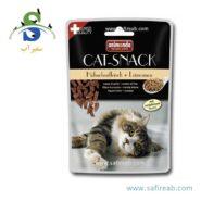 تشویقی گربه حاوی گوشت مرغ و بذر کتان (۴۵ گرم) انیموندا (Animonda Cat Snack Chicken Meat Plus linseed) 1
