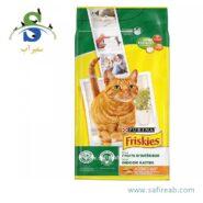 غذای خشک مرغ و سبزیجات فریسکیز (Friskies