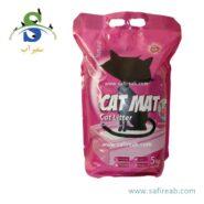 خاک گربه با رایحه اقیانوس (۵ کیلوگرم) کت مت (Cat Mat Ocean Pacific 5kg)