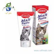 خمیر مالت گربه آنتی هربال به همراه ویتامین (۲۰ گرم) سانال (Sanal Cat Maltpaste 20gr)