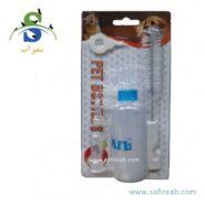 ست شیشه شیر سگ و گربه (۶۰ میلی گرم) دی پی اس (DPS Pet Bottle 60ml)