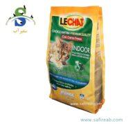 غذای خشک مخصوص گربه های بالغ داخل خانه لیچت (Lechat Indoor Fresh Chicken