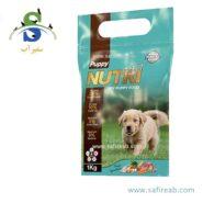 غذای خشک نوتری پت پاپی مخصوص توله سگ (۱ کیلوگرم) نوتری پت (Nutri Pet Puppy Dry Food 1kg)