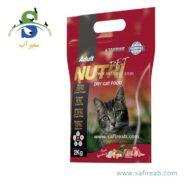 غذای خشک گربه حاوی ۲۹ درصد پروتئین (۲ کیلوگرم) نوتری پت (Nutri Pet Cat Dry Food Protein 2kg)
