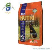 غذای سگ نوتری پت حاوی ۲۱ درصد پروتئین (۱۰ کیلوگرم) نوتری پت (Nutri Pet Dog Dry Food 21% Protein 10kg)