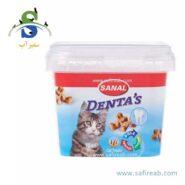 مکمل غذایی مالت و ویتامین مخصوص گربه ها جهت مراقبت از دندان ها سانال (Sanal Cat Denta's cup