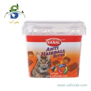 مکمل غذایی مالت و ویتامین گربه پیشگیری گلوله های مو سانال Sanal Cat Anti-Hairball