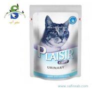 پوچ (سوپ) مخصوص گربه با کلیه و مجاری ادراری حساس (۸۵ گرم) پلازیر (PLAISIR URINARY CARE 85gr