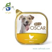 کنسرو سگ حاوی گوشت مرغ (۳۰۰ گرم) اسکار (Eco Oscar Paté with Chicken 300gr)