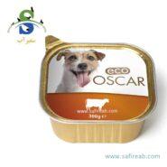 کنسرو سگ حاوی گوشت گوساله (۳۰۰ گرم) اسکار (Eco Oscar Paté with Beef 300gr)
