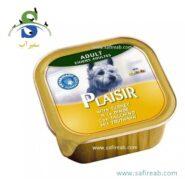 کنسرو کاسه ای سگ حاوی گوشت بوقلمون (۱۵۰ گرم) پلازیر (Plaisir Paté for dogs TURKEY 150gr)
