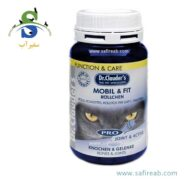 قرص تقویت کننده مفاصل و تاندونهای گربه دکتر کلادرز Dr.Clauder's Mobile & Fit- Joint Rolls