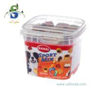 مکمل غذایی کاسه ای برای سگ های فعال با طعم گوشت مرغ و گوساله (۱۰۰ گرم) سانال (Sanal Dog Sport Mix Cup 100gr)