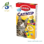 مکمل غذایی گربه به همراه (کت نیپ) سنبل الطیب (۳۰ گرم) سانال (Sanal Cat Catnip 30gr)