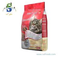 غذای خشک گربه مخلوط مرغ ، بوقلمون و ماهی (۵ کیلوگرم) بوی کت (Bewi Cat Crocinis 5kg)