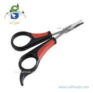 قیچی اصلاح سگ و گربه (سایز M) فرپلاست (Ferplast Steel Shears Size M) 1