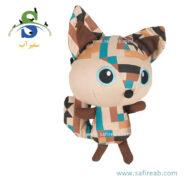 اسباب بازی آزتِک مدل روباه (۲۲ سانتیمتر) فلامینگو (Flamingo Aztec Toy Fox)