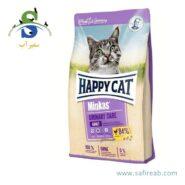 غذای خشک گربه مینکاس یورینری مخصوص سلامت دستگاه ادراری هپی کت (Happy Cat Minkas Urinary Care