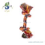 اسباب بازی سگ طناب دندانی (۳۲ سانتیمتر) چانگ لیر (Chong Le'er Toothpick dog toy) 1