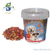 اسنک تشویقی مخصوص سگ جهت یادگیری و آموزش طرح قلب نوبی (Nobby StarSnack Training Mix