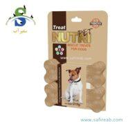 بیسکوییت تشویقی سگ (۶ عددی) نوتری پت (Nutri Pet Biscuit Treat)