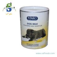 شیر خشک مخصوص توله سگ (۴۵۰ گرم) دکتر کلادرز (Dr.Clauder's Build up Plus- Dog's Milk 450gr)