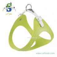 قلاده کتفی ارگو فلکس سبز رنگ (سایز XS) فرپلاست (Ferplast Ergoflex Harness XS)
