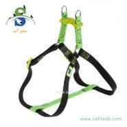 قلاده کتفی ایزی کالر سبز رنگ (سایز L) فرپلاست (Ferplast Easy Color Harness L)